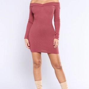 Fashion Nova vitality Ribbed Dress